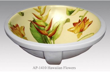 AP-1410 Hawaiian Flowers