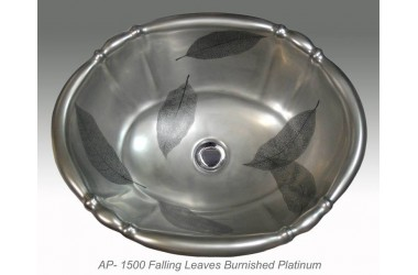 AP-1500 Falling Leaves Burnished Platinum