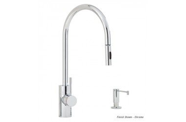 5900-2 Contemporary PLP Prep Pulldown Faucet Mini Suite