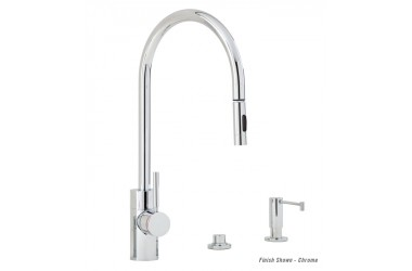 5900-3 Contemporary PLP Prep Pulldown Faucet Mini Suite