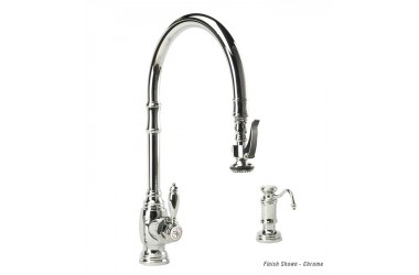 5500-2 PLP Extended Reach Pulldown Kitchen Faucet Mini Suite