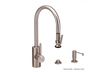 5930-3 Contemporary PLP Prep Pulldown Faucet Mini Suite