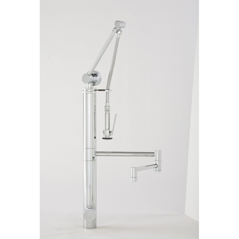 12 Contemporary Gantry Pulldown Kitchen Faucet