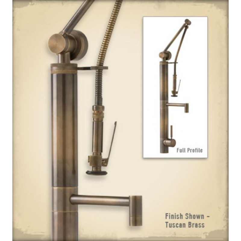 3700 Contemporary Gantry Pulldown Kitchen Faucet