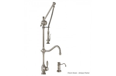 4400-2 Traditional Gantry Suite.  Includes Soap/Lotion Dispenser